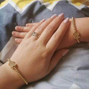 Teddy Bear Adjustable Stainless steel bracelet
